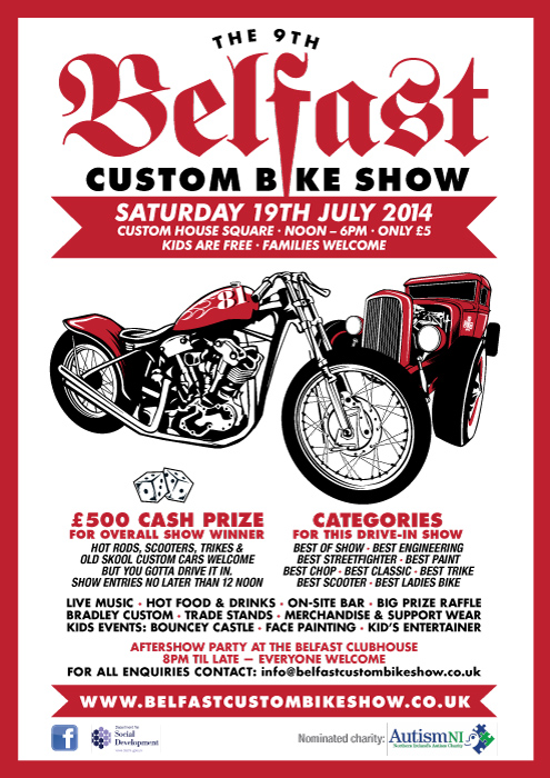 Belfast Custom Bike Show - 19th July 2014